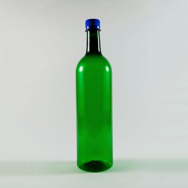PET-Boca-za-vino-zelena-okrugla-1l-front